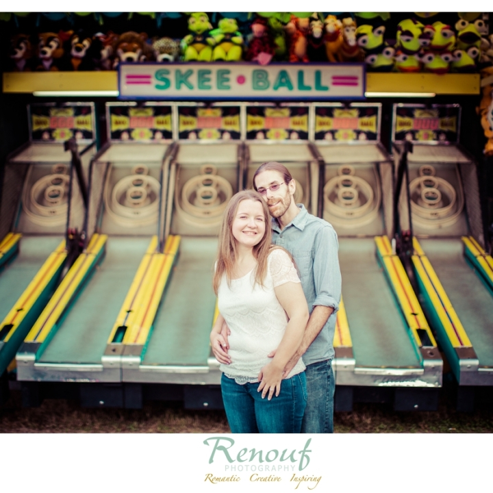 Jessalyn & Jeremy . Engagement Session Virginia State Fair