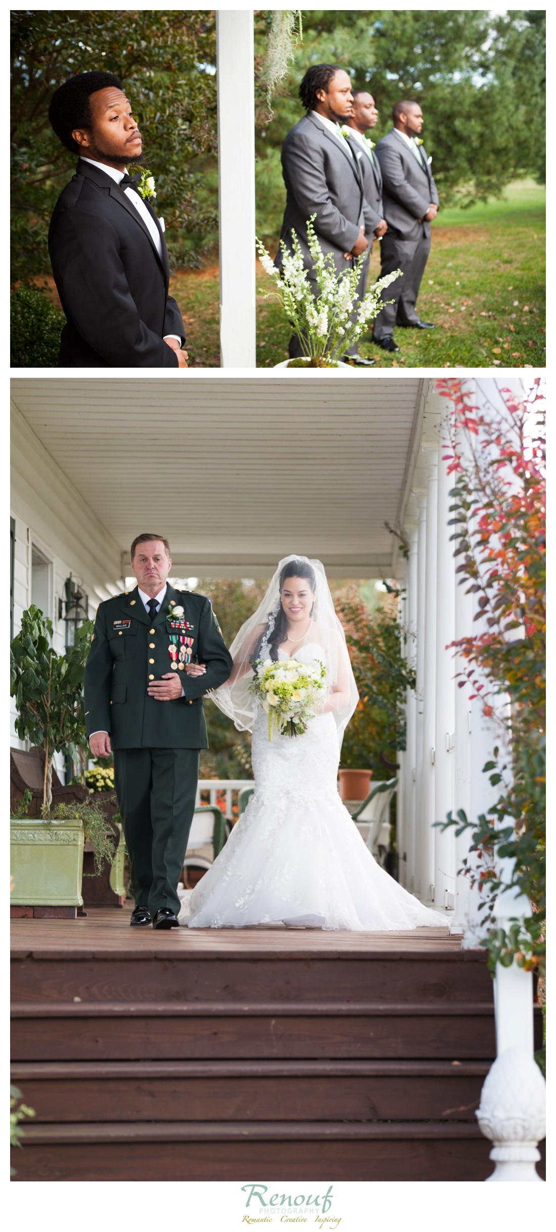 Rock Hill Plantation Wedding Photographer Stafford Virginia