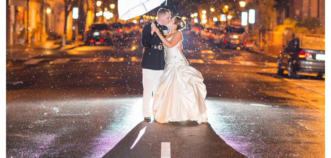 Kailyn & Sean . Married . Quantico and Fredericksburg Square Wedding